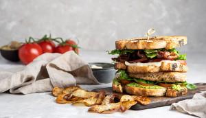 Julie`s Club Sandwich
